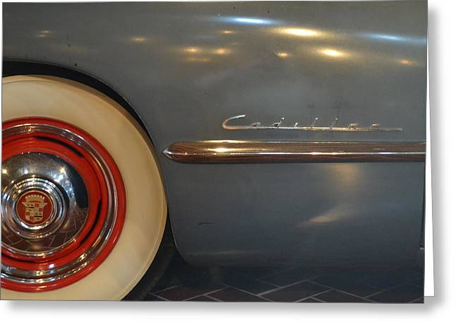 1942 Cadillac - Series 62 Sedanette Fastback Greeting Card by Michelle Calkins