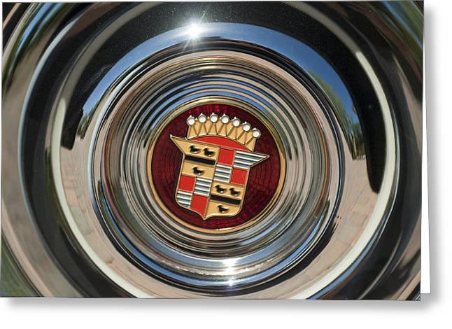 1947 Cadillac Emblem 2 Greeting Card