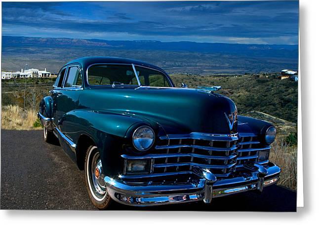 1947 Cadillac Model 62 Sedan Greeting Card
