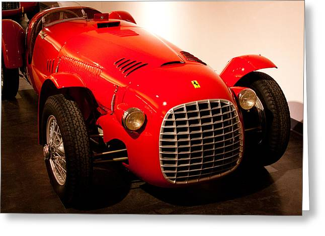 1947 Ferrari 166 Spyder Corsa Greeting Card