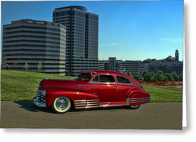 1948 Chevrolet Fleetline Greeting Card by Tim McCullough