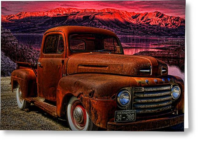 1948 Ford Pickup Truck Greeting Card