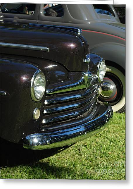 1948 Ford Super Deluxe Greeting Card by Peter Piatt