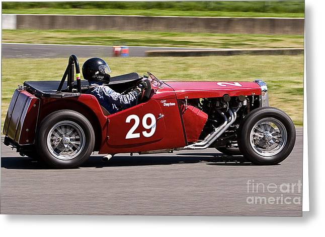 1949 Mg Tc Special Greeting Card by John Buxton