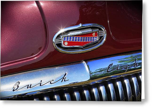 Greeting Card featuring the photograph 1951 Buick Eight by Gordon Dean II