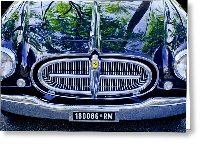 1952 Ferrari 212 Vignale Front End Greeting Card by Jill Reger