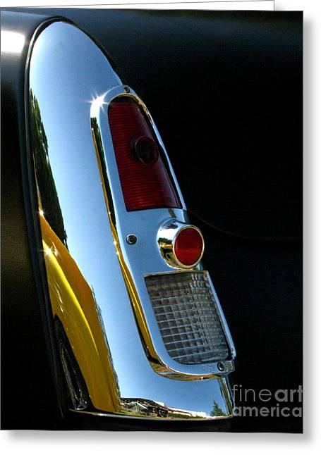 1953 Mercury Monterey Taillight Greeting Card by Peter Piatt