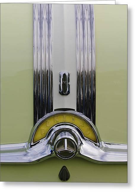 1953 Pontiac Emblem Greeting Card