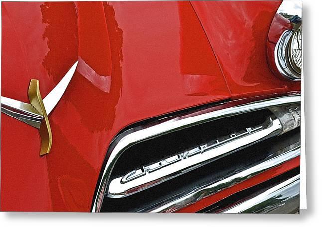 1953 Studebaker Champion Greeting Card