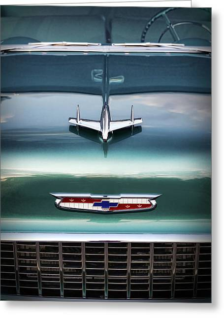 1955 Chevy Bel Air Greeting Card by Gordon Dean II