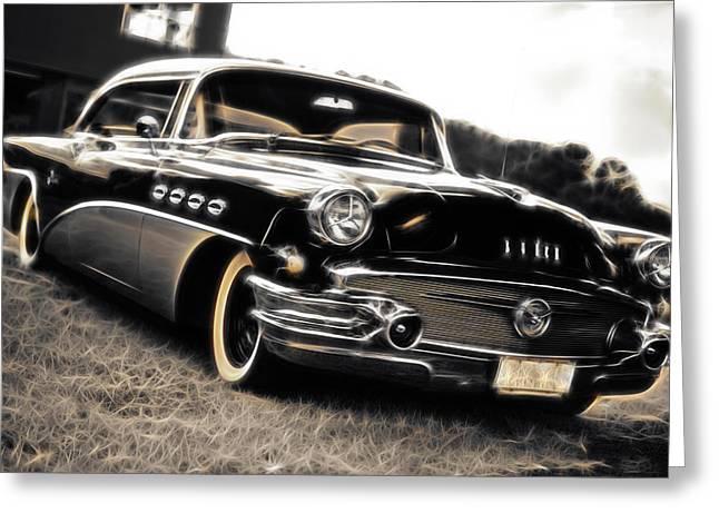 1956 Buick Super Series 50 Greeting Card