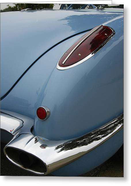 1958 Corvette Greeting Card