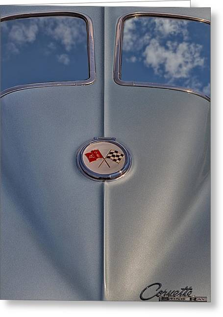 1963 Corvette Sting Ray Greeting Card