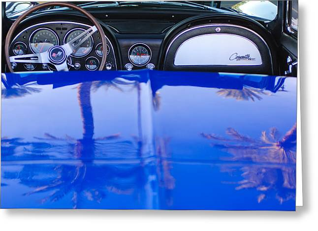 1965 Chevrolet Corvette Sting Ray Greeting Card by Jill Reger