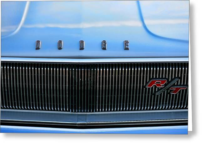 1966 Dodge Coronet Rt Greeting Card by Gordon Dean II