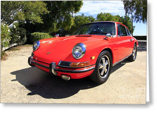 Greeting Card featuring the photograph 1968 Porsche 911 by Denise Pohl