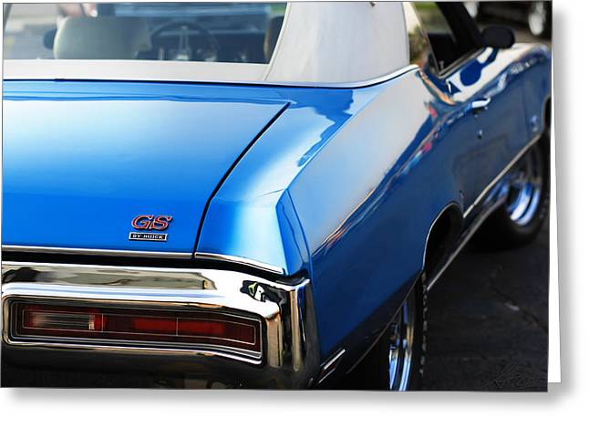 Greeting Card featuring the photograph 1971 Buick Gs by Gordon Dean II