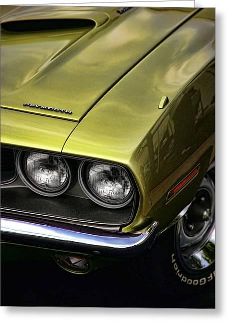 1971 Plymouth Barracuda 360 Greeting Card by Gordon Dean II