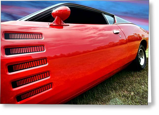 1972 Dodge Charger Magnum 400 Greeting Card by Gordon Dean II