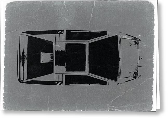 1972 Maserati Boomerang Greeting Card by Naxart Studio
