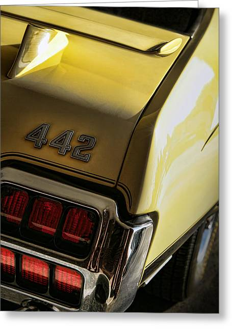 1972 Oldsmobile 442 Greeting Card by Gordon Dean II