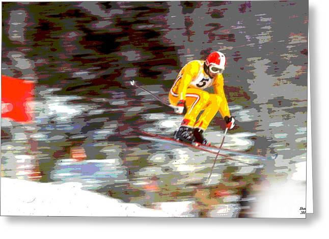 1972 Winter Olympics Greeting Card