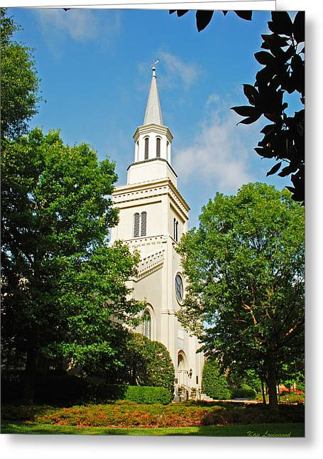 1st Presbyterian Church Greeting Card