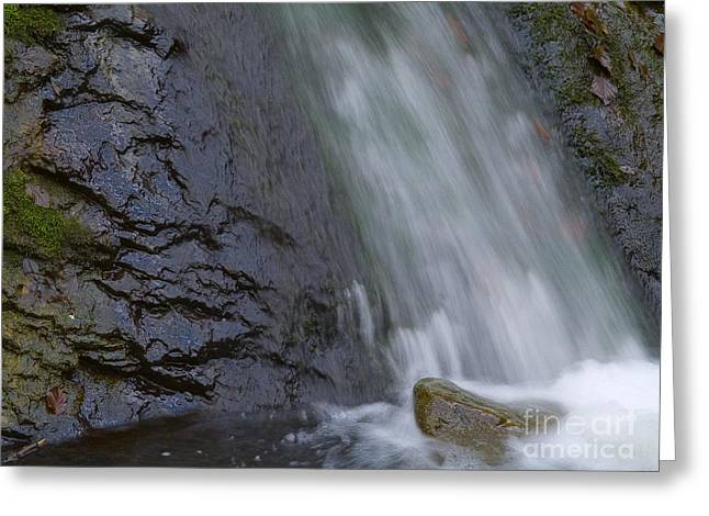 Waterfall Greeting Card by Odon Czintos