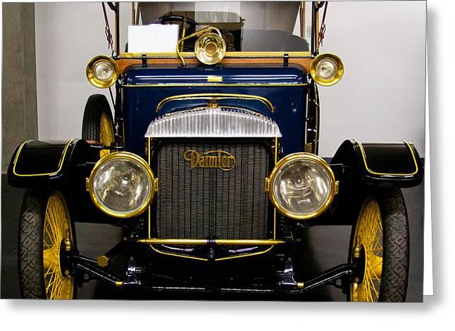 1913 Daimler Type 20 Touring Car Greeting Card