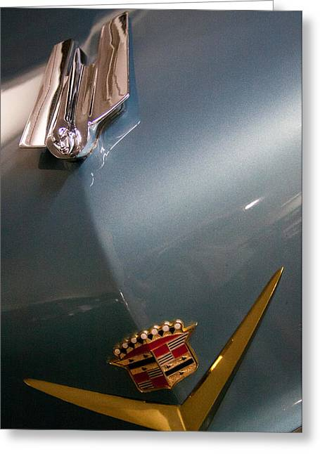 1955 Cadillac Eldorado 2 Door Convertible Greeting Card by David Patterson