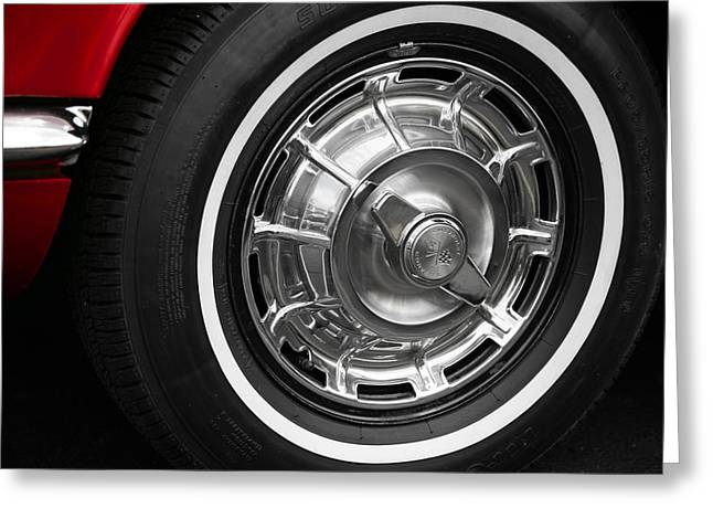 1962 Chevrolet Corvette Greeting Card by Gordon Dean II