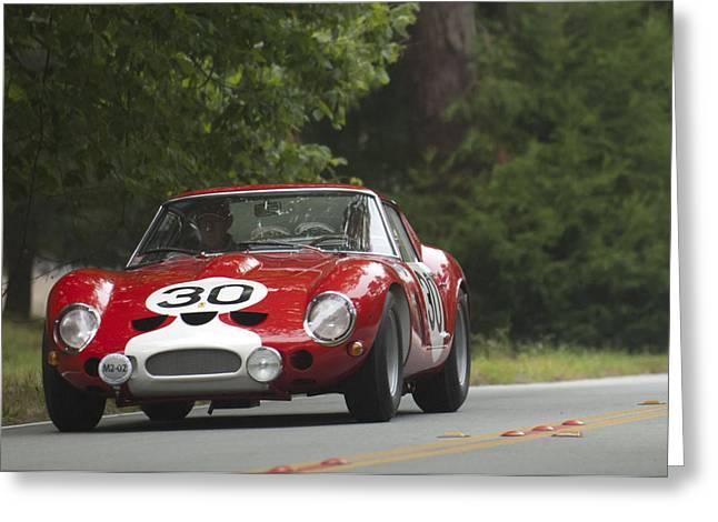 1962 Ferrari 250 Gto Scaglietti Berlinetta  Greeting Card