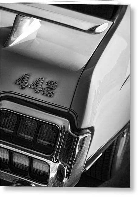1972 Oldsmobile Cutlass 442 Greeting Card by Gordon Dean II