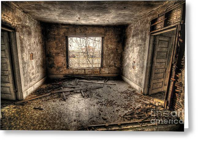 Abandoned Greeting Card by Miguel Celis
