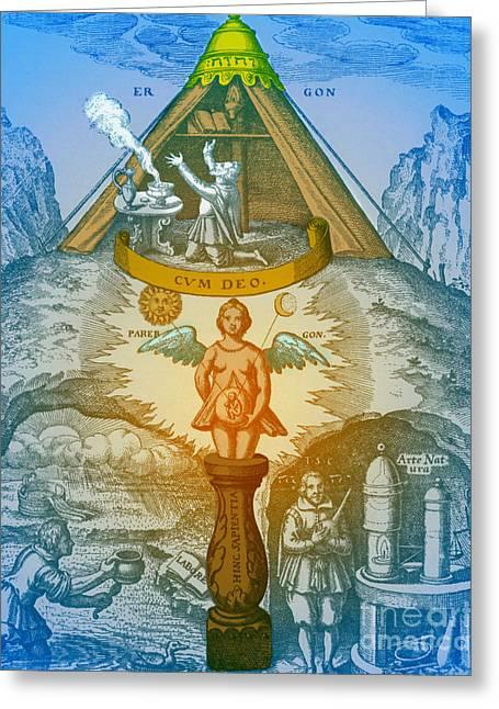 Alchemy Greeting Card