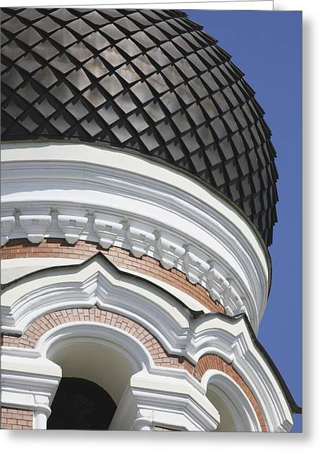 Alexander Nevsky Cathedral Greeting Card by Axiom Photographic