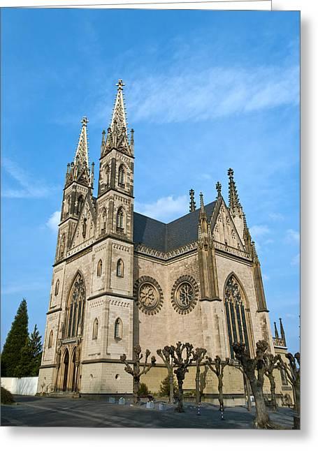 Apollinaris Church In Remagen Greeting Card