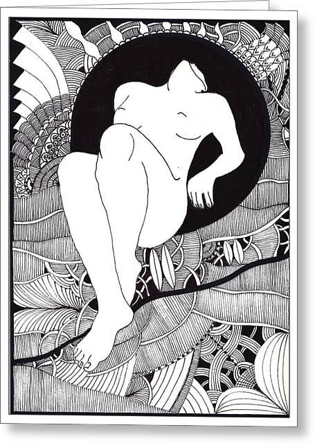 Art Greeting Card by Marek Burbul