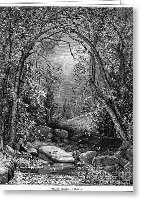Autumn, 1873 Greeting Card