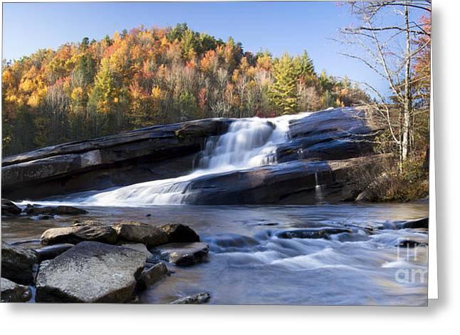 Bridal Veil Falls In Dupont State Park Nc Greeting Card