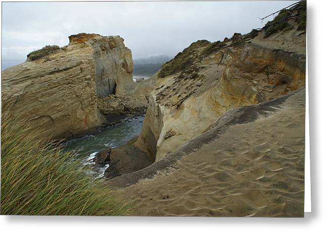 Cape Kiwanda Greeting Card