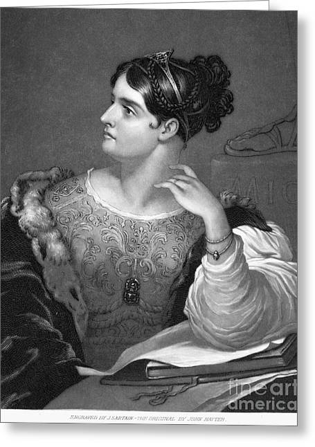 Caroline E. Norton Greeting Card by Granger