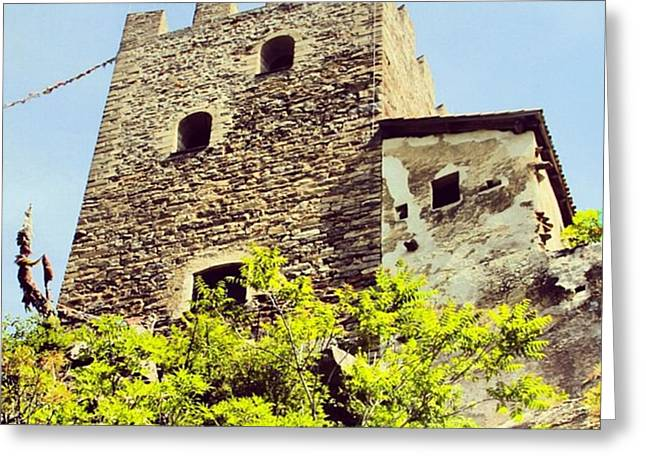 Castel Juval Greeting Card