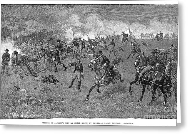 Chancellorsville, 1863 Greeting Card by Granger
