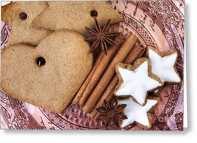 Christmas Gingerbread Greeting Card