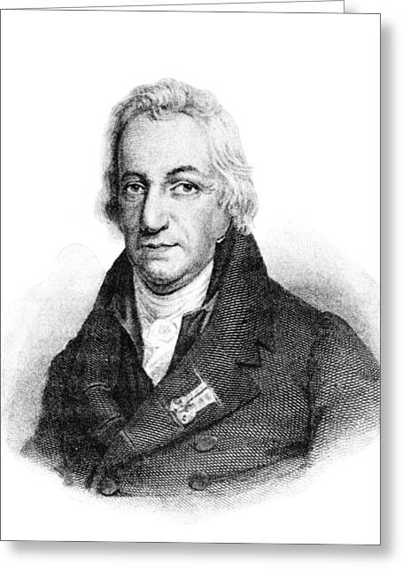 Claude Louis Berthollet, French Chemist Greeting Card by