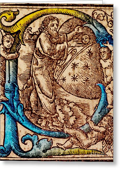 Creation, Giunta Pontificale, 1520 Greeting Card by Science Source