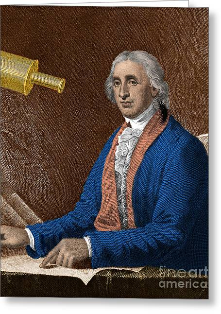 David Rittenhouse, American Astronomer Greeting Card by Science Source
