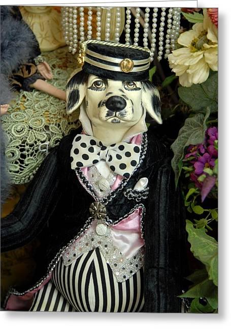 Dog 191 Greeting Card by Joyce StJames