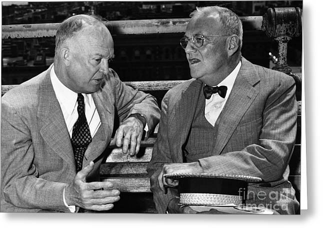 Dwight D. Eisenhower Greeting Card by Granger